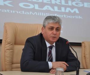 """Vali Rahmi Doğan, """"Doğu Ekspresi'yle Kars'a gelen misafirlerin sayısında artış sağlandı"""""""