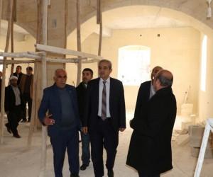 Haliliye Belediye Başkanı Fevzi Demirkol çalışmaları yerinde inceledi
