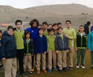 Çamlıca öğrencileri Malatyaspor'a başarılar diledi
