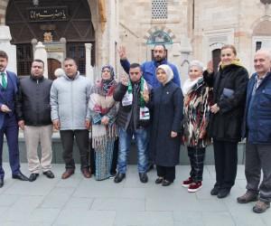 Direnişin sembolü Filistinli Muhammed El Taweel Konya'da