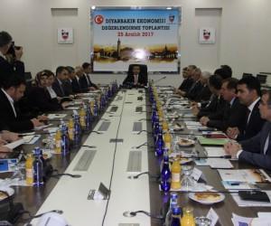 Diyarbakır Ekonomisi Değerlendirme Toplantısı gerçekleştirildi