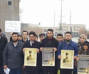 Üniversite öğrencileri Fahrettin Paşa'nın yeminini okudu