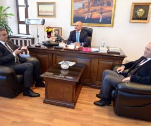MHP Milletvekili Kamil Aydın'dan Korkut'a ziyaret