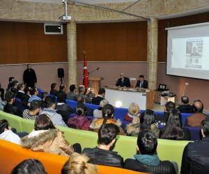 """Aydın Menderes  """"Siyasi Ufuk Turu"""" konferansı ile anıldı"""
