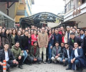 Rektör Bircan, öğrenci topluluklarıyla Nazilli'de bir araya geldi