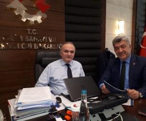 Başkan Yiğit'ten Ankara çıkarması
