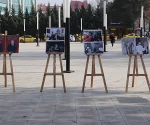 Ülkü Ocaklarından Alparslan Türkeş sergisi