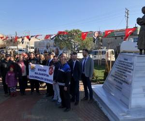 Soydaşların yaşadığı acının sembol ismi Türkan bebeğin anısına park açıldı