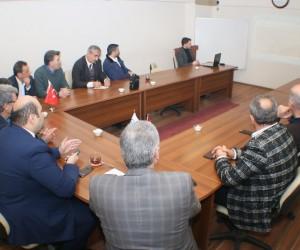 Başkan Orhan'dan Müstakil Sanayici ve İşadamları üyelerine hizmet sunumu