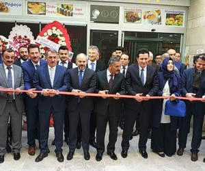 Samsun Adalet Sarayı Halka Açık Mağazası ve Kafeterya açıldı