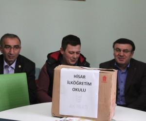 AK Parti Domaniç Gençlik Kolları Başkanlığı'ndan kitap kampanyası