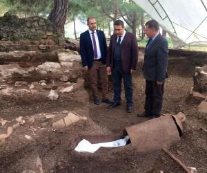 Amfora mezarlar turizmcileri heyecanlandırdı