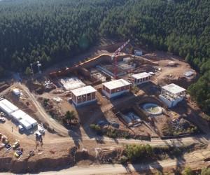 Safranbolu içme suyu isale hattı ve arıtma tesisi'nde çalışmalar devam ediyor