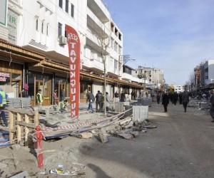 Melik Ahmet Caddesi çalışmalarında sona yaklaşılıyor