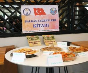 Balkan lezzetlerini buluşturan kitap