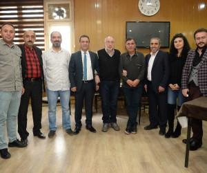 Erzurum Gazeteciler Cemiyeti'nde Metin Barlak dönemi