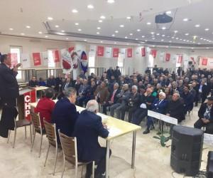 CHP Niğde İl Başkanı Erhan Adem güven tazeledi