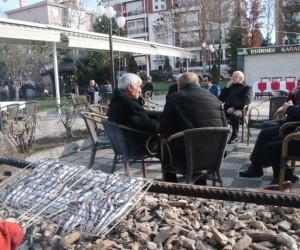 Edirne'de Karadenizliler Derneği'nden 'Hamsi Günü'