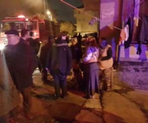 Süleymaniye Mahallesinde Yangın