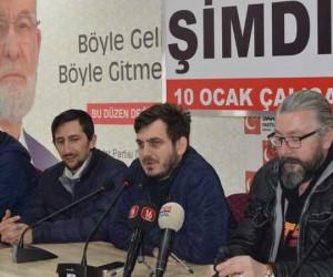 Saadet Partisi yönetimi merak ettiklerini basın mensuplarına sordu