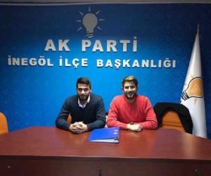 AK Parti İnegöl Gençlik Kolları Başkanı belli oldu