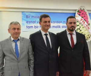 Elektrikçiler odasında Yakup Ulama tekrar başkan seçildi