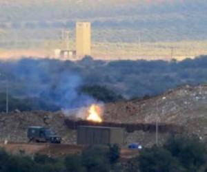 Burseya Dağı'nda terör örgütünün beton kuleleri bombalanıyor