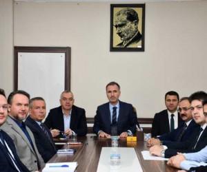 İnegöl'deki kurumlar alt yapı koordinasyonu için toplandı