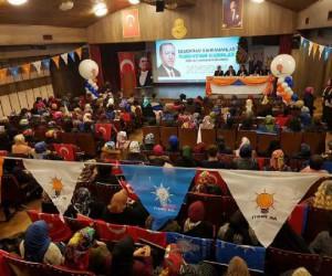 AK Parti İnegöl Kadın Kolları Başkanlığına Esra Leblebici tekrar seçildi
