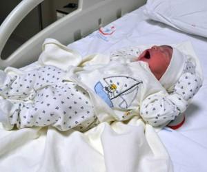 Yozgat'ta yılın ilk bebeği 'Muhammed Aras' oldu