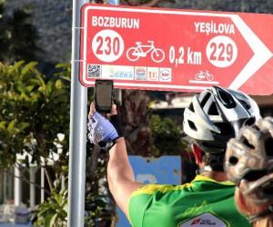 Marmaris, Avrupa'da yılın bisiklet rotalarına aday gösterildi