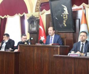 Edirne Belediye Meclisi 2018'in ilk toplantısı yapıldı