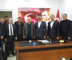 Karakuş'tan Ortaca Şoförler Odası'na ziyaret