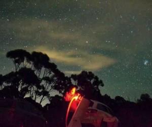 Astronomi tutkunları mangal eşliğinde galaksiyi inceledi