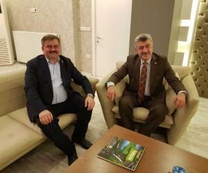 Çaturoğlu, Yığılca Belediye Başkanı Yiğit'i ziyaret etti