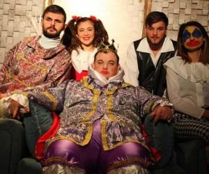 """Sinop'ta """"Kral Çıplak"""" oyunu sahnelendi"""