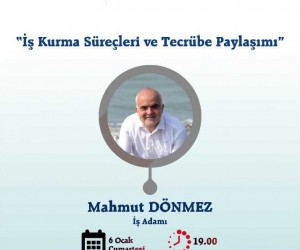 BİLSAM iş adamı Mahmut Dönmez'i ağırlayacak