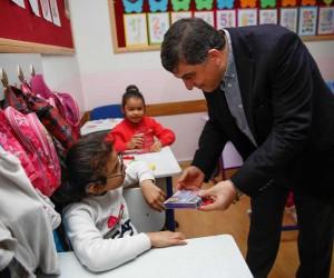 Belediye Başkanı Rıdvan Fadıloğlu, özel öğrencilerle buluştu