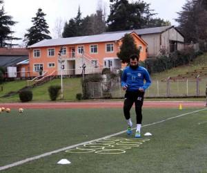 Engin Baytar, amatör lig takımında ilk idmanına çıktı