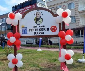 İzmir kahramanı şehit Fethi Sekin, Didim'de ölümsüzleştirildi