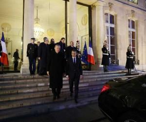 Cumhurbaşkanı Erdoğan, Elysee Sarayı'ndan ayrıldı