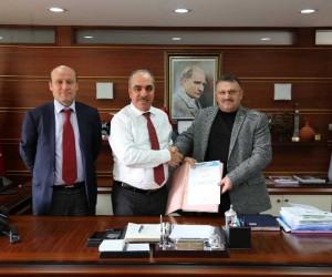 Karadere ve Akdere inşaat sözleşmesi imzalandı