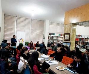 Aday öğretmenlerden Diriliş Kitap Kafeye ziyaret