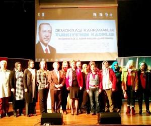 Mudanyalı AK kadınlar Neslihan Erdeniz'i seçti