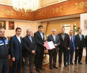 Başkan Remzi Aydın, Sosyal Denge Sözleşmesini imzaladı