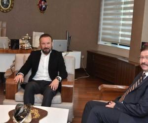 Genel Sekreter İlhan Bayram'dan Başkan Doğan'a ziyaret