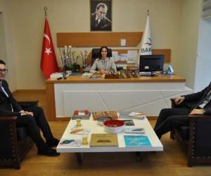 Nüfus Müdürü ve TUİK Müdüründen Elif Acar'a ziyaret