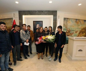 Şahin İsmet Paşa Anadolu Lisesi'ni ağırladı
