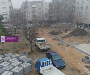 Adil Aygül Parkında çalışmalar başladı