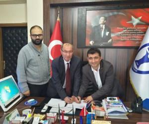 Domaniç Hayme Ana MYO ile belediye arasında staj protokolü